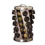 Kamenstein Twist 20-Jar Revolving Spice Rack with Free Spice Refills for 5 Years