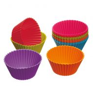 Kitchen Craft Colourworks Silicone Cupcake Cases, Set of 12