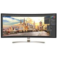 LG 38UC99-W 38-Inch 21:9 Curved UltraWide QHD+ IPS Monitor with Bluetooth Speakers