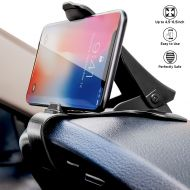 Labelbro Dashboard Cell Phone Holder HUD Car Phone Mount LabelBro Universal Cradle Adjustable GPS Holder Dashboard Phone Mount for iPhone 7 7Plus 6S Samsung Galaxy S7 S6 & Other Smartphone/