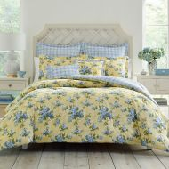 Laura Ashley Cassidy Twin Comforter Set in Yellow