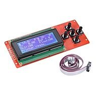 Lightinthebox 2004 LCD Smart Display Screen Controller Module with Cable for RAMPS 1.4 Arduino Mega Pololu Shield Arduino Reprap 3D Printer Kit Accessor