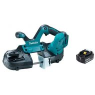 Makita XBP01Z 18V LXT Lithium-Ion Cordless Compact Band Saw & BL1840B 18V LXT Lithium-Ion 4.0Ah Battery