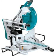 Makita LS1219L 12 Dual-Bevel Sliding Compound Miter Saw with Laser