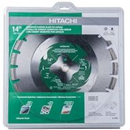 Hitachi 115438 14 Segmented Diamond Blade For Asphalt, Block, Green Concrete