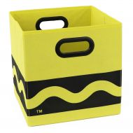 Modern Littles Crayola Storage Bin Yellow