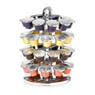 Nifty Nespresso Capsule Carousel in Chrome