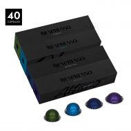 Nespresso VertuoLine Intense Assortment, 40 Capsules