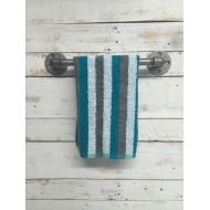 Countrycornergoods Pipe Towel Bar-Bath Towel Bar-Bathroom Towel Bar-Rustic Towel Bar-Industrial Towel Bar-Towel Hanger-Industrial Bathroom-Modern Steampunk