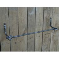 SiberianWroughtIron Wrought iron towel bar, Bathroom Accessories, Wrought iron, Hand forged, Blacksmith, Towel rack, Towel holder