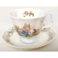 Nivagcollectables Brambly Hedge The Birthday tea cup and saucer - Royal Doulton - 1987