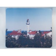 NoBrand Mousepad, Lake Superior Michigan Lighthouse Design, Office Decor, Photograph, Artistic, Office Accessory