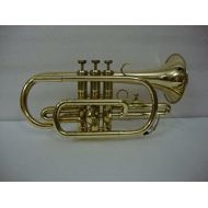 OSWAL Bb Flat Brass Finishing Cornet Trumpet With Free Hard Case+MP