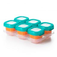 OXO Tot 2 oz. Food Storage Baby Blocks in Teal (Set of 6)