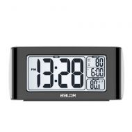 Peakeep BALDR Nap Clock with Quick Set-up Digital LCD, Black