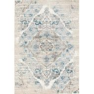 Persian Area Rugs 4620 Cream 8x10 Area-Rugs, 8 x 11, Ivory