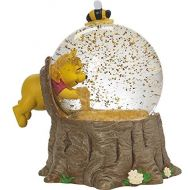 Precious Moments, Disney Showcase Winnie The Pooh Musical Snow Globe, For The Love Of Hunny, ResinGlass, #171708