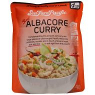 Sea Fare Pacific Albacore Curry, Red, 9 Ounce (Pack of 8)