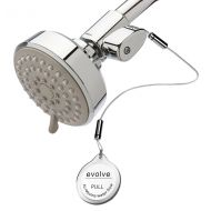 Evolve High Pressure Shower Head + ShowerStart TSV  Spa Massage and Pause Setting  Make your hot water last longer while cleverly saving thousands of gallons a year  2.0 gpm