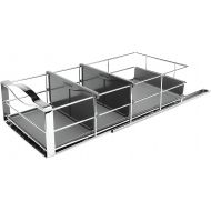 Simplehuman simplehuman 14 inch Pull-Out Cabinet Organizer, Heavy-Gauge Steel Frame