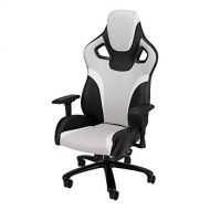 Galaxy XL - Big and Tall, Large Size Gaming Chair by SkyLab Performance Seating, GreyBlackWhite
