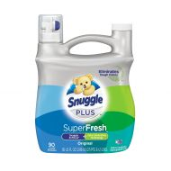 Snuggle Plus Super Fresh Liquid Fabric Softener with Odor Eliminating Technology, Original, 95 Fluid Ounces, 90 Loads (Packaging May Vary)