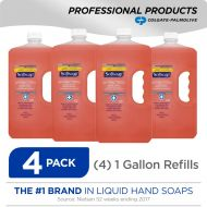 Softsoap SOFTSOAP Liquid Hand Soap Refill, Soothing Aloe Vera, 1 Gallon (Pack of 4) (201900)