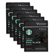 Starbucks Verismo 72-Count Decaf Pikes Place Brewed Coffee Pods