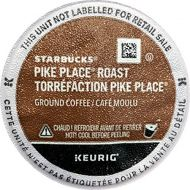 Starbucks Pike Place Roast K-Cups (72 count), 31.4 Ounce