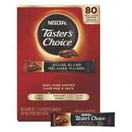 Nescafe Coffee, Tasters Choice, House Blend Stick Packs, 80 Count 4.79 Ounce