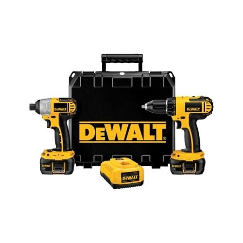 Texastooltraders Factory Reconditioned Dewalt DCK265LR 18V Compact Drill and Impact Combo