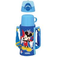 Thermos Vacuum Insulation 2WAY Bottle Disney Mickey Mouse 0.63L0.6L Dark Blue (FFG-600WFDS)