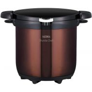 Thermos THERMOS vacuum heat insulation cooker Shatorushefu 4.5L clear Brown KBG-4500 CBW
