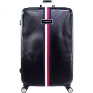 Tommy Hilfiger Luggage Basketweave 28 Expandable Hardside Checked Spinner Luggage