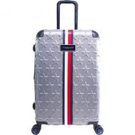 Tommy Hilfiger Luggage Starlight 24 Expandable Hardside Spinner Checked Luggage
