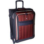 Tommy Hilfiger Classic Sport 25 Inch Expandable Luggage, Navy/Burgundy, One Size
