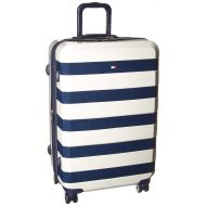Tommy Hilfiger Rugby 25 Expandable Hardside Spinner, White