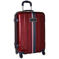 Tommy Hilfiger Lochwood 25 Inch Spinner Luggage, Silver, One Size