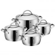 WMF Concento 8 Pc Cookware Set, Silver