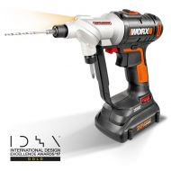 WORX 20-Volt Max* Power Share, Switchdriver Drill-Driver, 14-Inch Hex Quick-Change Chuck, (2) 1, WX176L,