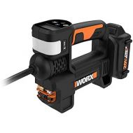 [아마존베스트]WORX WX092L 20V 2.0Ah 2 in 1 Cordless Inflator Battery and Charger Included, max. 10 Bar, Digital pressure display