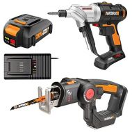 Worx WO7043 20V Switchdriver DrillDriver and Axis 2-in-1 RecipJigsaw Combo Kit