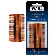 Wahl Mens Beard/Hair Comb, Wallet Mens Grooming Handcrafted Comb for Hair, Beard & Mustache
