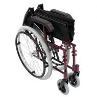 Walgreens Karman 18 in Seat Ultra Lightweight Wheelchair Burgundy