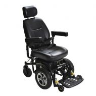 Walgreens Drive Medical Trident Front Wheel Drive Power Chair 18 Inch Seat Black