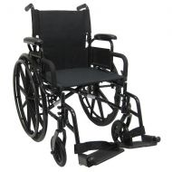 Walgreens Karman 18in Seat Ultra Lightweight Wheelchair with Elevating Legrest
