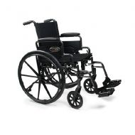 Walgreens Everest & Jennings Traveler Lightweight Wheelchair with Flip Back Arm and Swing Footrests 16 x 16
