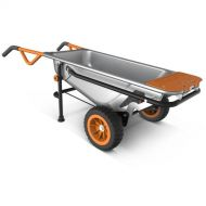 WORX WG050 Aerocart 8-in-1 Wheelbarrow  Yard Cart  Dolly
