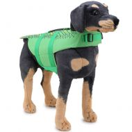 XDYFF Dog Life Jacket with Superior Buoyancy & Rescue Handle Mermaid Reflective Swimsuit Whale