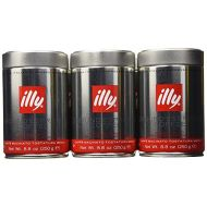 Illy illy Caffe Normale Fine Grind (Medium Roast, Red Band) 8.8 coffee cans (Pack of 6)